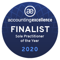 Sole Practitioner of the Year Finalist Badge