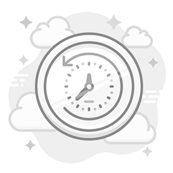 Time tracking icon