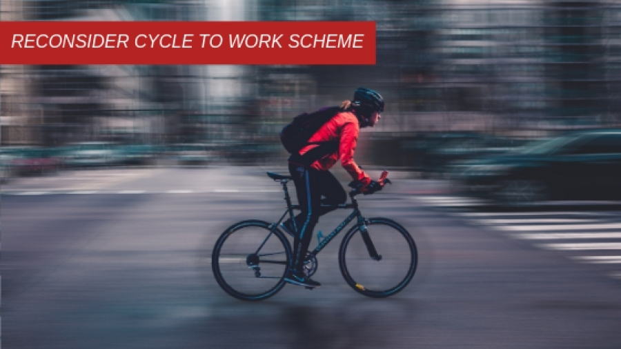 Reconsider cycle to work scheme
