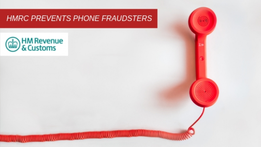 HMRC prevents phone fraudsters